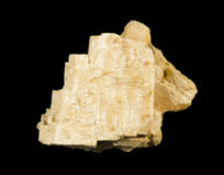 Crystal of K-feldspar Stock Photography