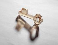 Crystal key Royalty Free Stock Photography