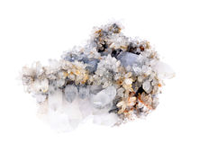 crystal kvarts Fotografering för Bildbyråer