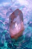 Crystal kvarts Arkivfoto