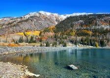 Crystal lake in Colorado Stock Photo