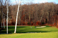 Crystal Lake Golf Course Royalty Free Stock Photos