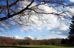 Crystal Lake Golf Course stock image