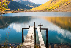 Crystal Lake Reflections Stock Image