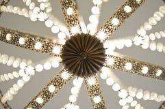 crystal lampa Arkivbilder