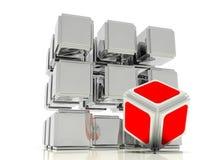 Crystal lattice Stock Photo