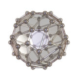 Crystal lattice Stock Photography