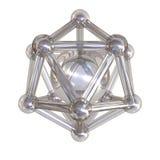 Crystal lattice Royalty Free Stock Image