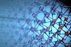Crystal Lattice Stock Image