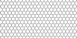 Crystal lattice Royalty Free Stock Images