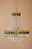 Crystal lighting Chandelier,lamp,light Royalty Free Stock Images