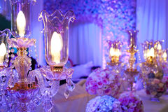 Crystal Lighting Stock Images