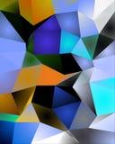 Crystal Like Pattern Immagini Stock