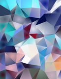 Crystal Like Pattern Royalty Free Stock Images