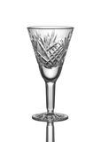 Crystal little glass. Stock Photo