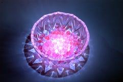 crystal livstid för boll fortfarande Royaltyfri Foto