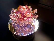 Crystal Lotus Flower grande estupendo fotografía de archivo libre de regalías