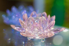 Crystal lotus Royalty Free Stock Photography
