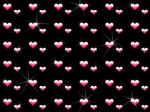 Crystal love wallpaper Royalty Free Stock Image