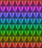 Crystal material pattern Royalty Free Stock Image