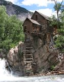 The Crystal Mill Stock Photo