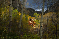 Crystal Mill. Colorados Crystal Mill in Fall Stock Images