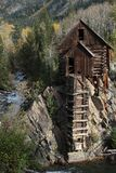 Crystal Mill Colorado Fotografering för Bildbyråer