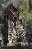 Crystal Mill Colorado Royaltyfria Bilder