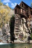 Crystal Mill Colorado Royaltyfri Fotografi