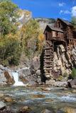Crystal Mill Colorado Arkivfoton