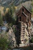 Crystal Mill, Colorado stock image