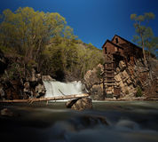 Crystal Mill en Colorado Fotos de archivo libres de regalías