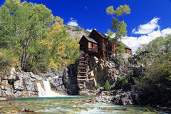 The Crystal Mill Stock Images