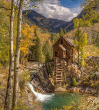 Crystal Mill, Kristal, Colorado Royalty-vrije Stock Foto