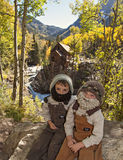 Crystal Mill mountain men Royalty Free Stock Images