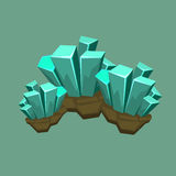 Crystal Mineral Illustration Stock Photo