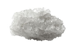 Crystal of mineral salt Royalty Free Stock Photos