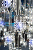 Crystal of modern Chandelier Lamp Royalty Free Stock Photo