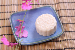 Crystal Mooncake. Ice moon cake Crystal Mooncake royalty free stock images