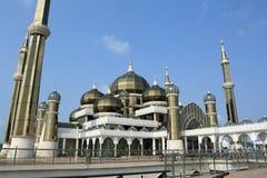 Crystal mosque. Located at wan man island, kuala terengganu, malaysia is a landmark of state terengganu, malaysia Stock Photo
