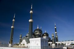 Crystal Mosque Royalty Free Stock Photos