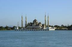 Crystal Mosque dans Teregganu, Malaisie Image libre de droits