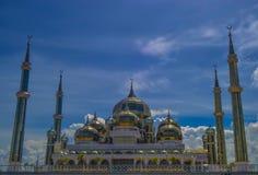Crystal Mosque eller Masjid Kristal Royaltyfri Foto