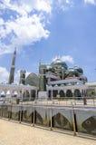 Crystal Mosque eller Masjid Kristal i Kuala Terengganu, Terengganu Arkivbilder