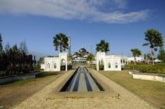 Crystal Mosque em Terengganu, Malásia foto de stock
