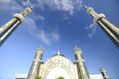 Crystal Mosque i Terengganu, Malaysia Fotografering för Bildbyråer