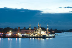 CRYSTAL MOSQUE, Kuala Terengganu Royalty Free Stock Photo