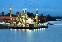 CRYSTAL MOSQUE, Kuala Terengganu Royalty Free Stock Images
