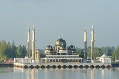 Crystal mosque in Kuala Terengganu, Malaysia Stock Image