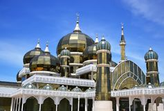 Crystal Mosque or Masjid Kristal. In Kuala Terengganu Royalty Free Stock Photography